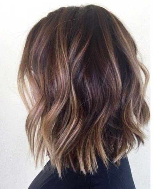 Wavy Bob Haircuts-13