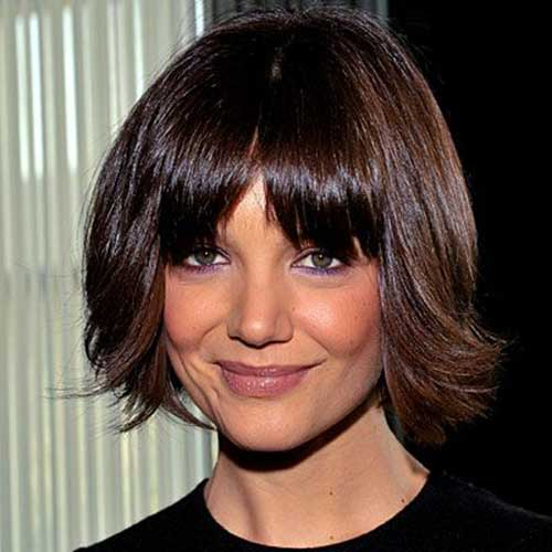 Katie Holmes Bob with Bangs-16