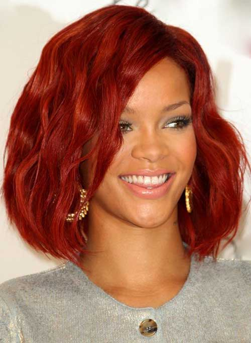 Rihanna Bob Haircut-16