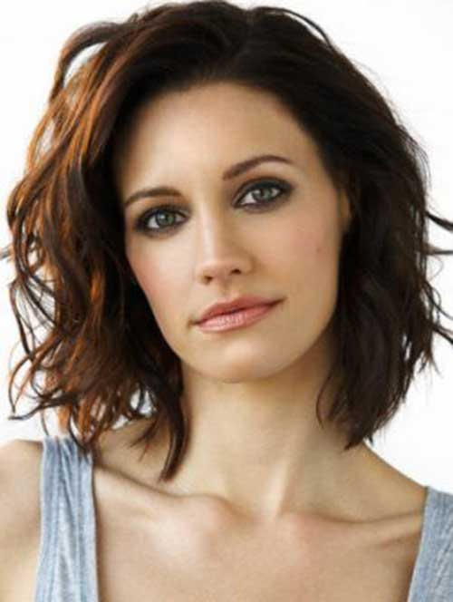 Dark Brown Bob Hairstyles-18