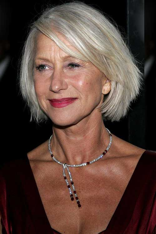 Bob Hairstyles for Older Women-23