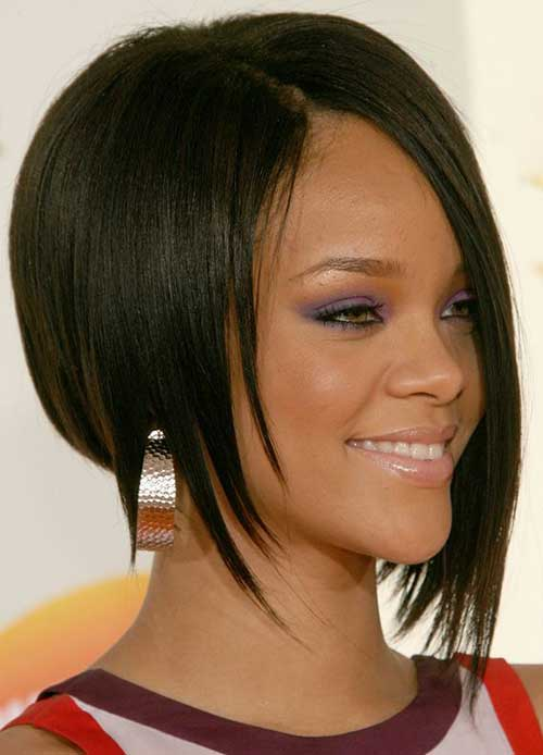 Rihanna Bob Haircut-6