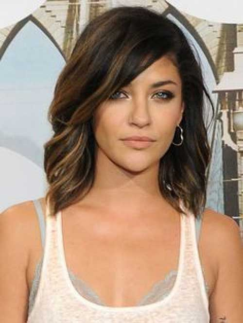 Dark Brown Bob Hairstyles-7