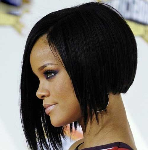 Rihanna Bob Haircut-7