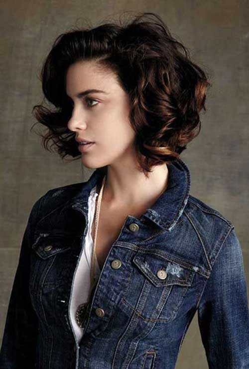Dark Brown Bob Hairstyles-8