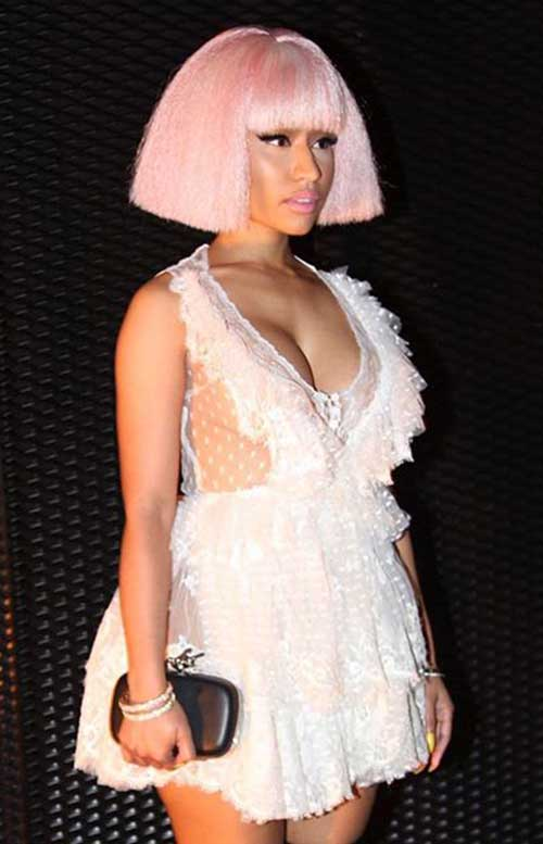 Nicki Minaj Blonde Bob-9