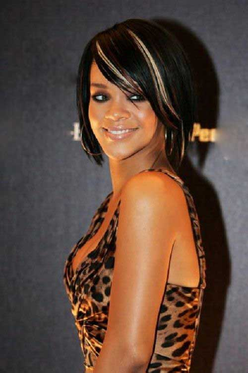 Rihanna Bob Haircut-9