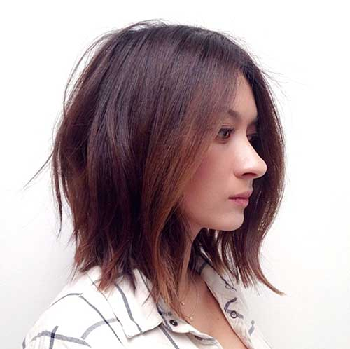 Bob Haircut Brunette