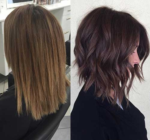 20 Brunette Bob Hairstyles Bob Haircut And Hairstyle Ideas