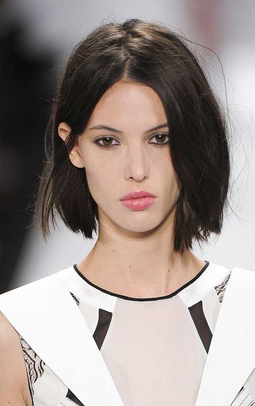 Dark Brown Hair Bob