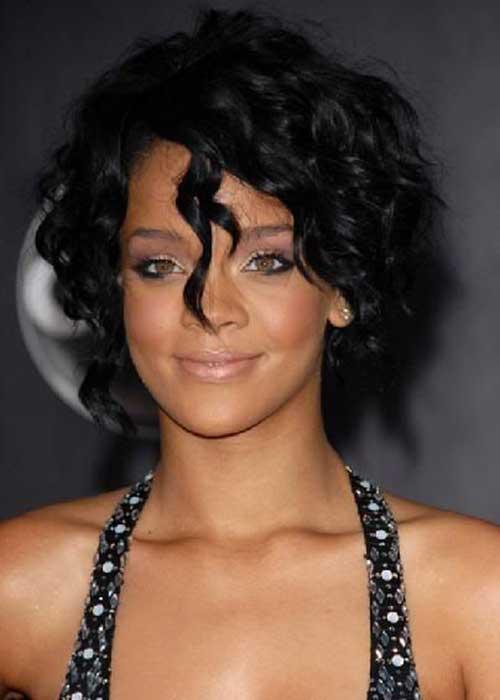 Rihanna Bobs Hairstyles