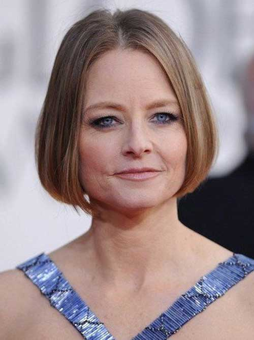 Bob Hairstyles for Older Ladies-19