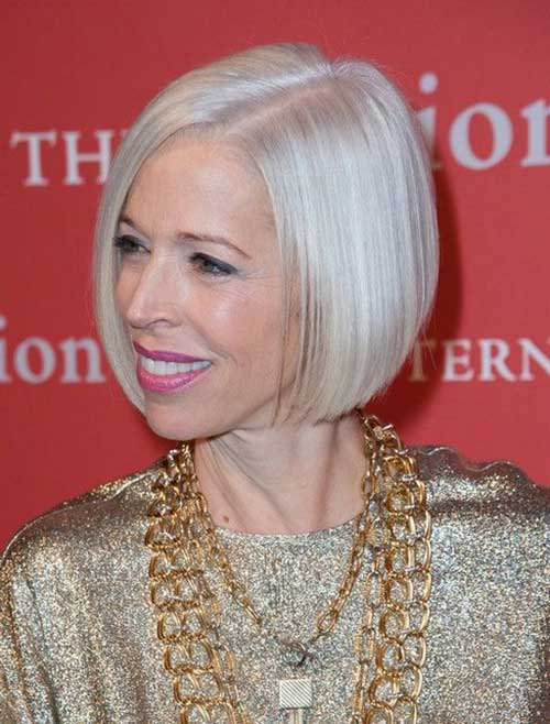 Bob Hairstyles for Older Ladies-20
