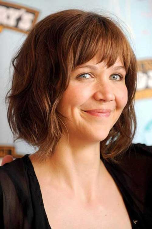Short Bobs for Round Faces-23