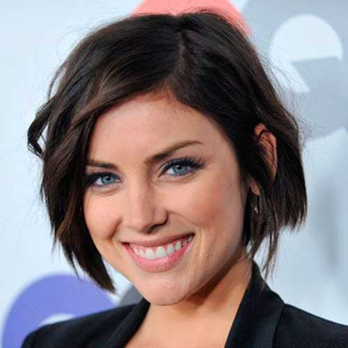 Short Bobs for Round Faces-25