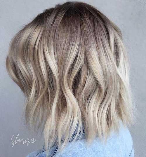 Lob Hair Cuts