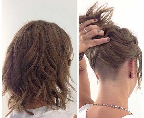 Wavy Bob Haircuts