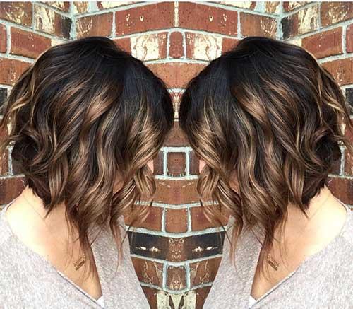 Brunette Bob Hairstyles-11
