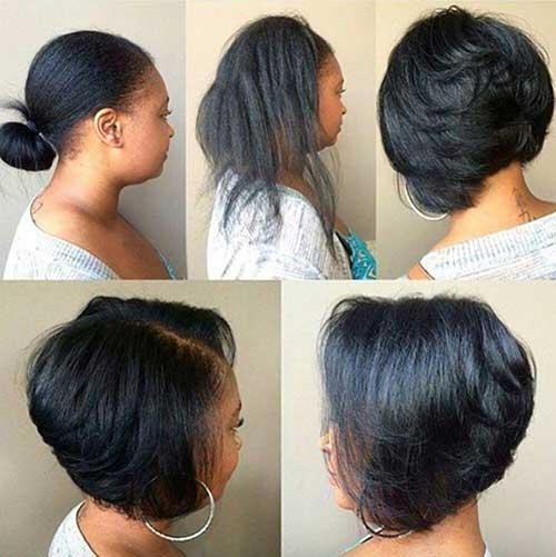 Brunette Bob Hairstyles-7