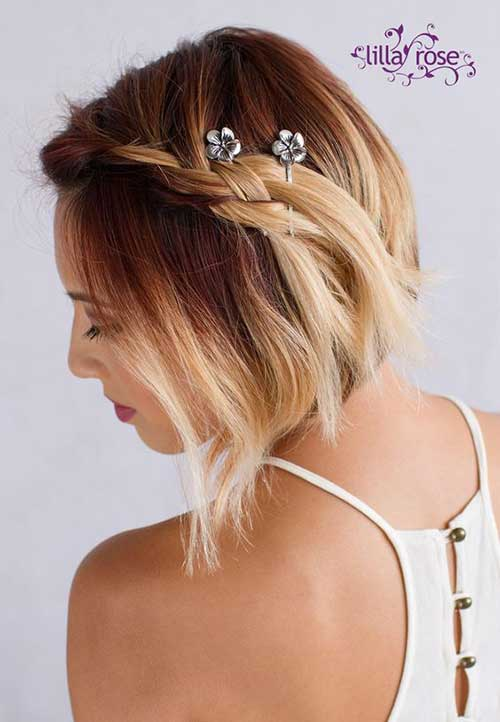 Updo Hairstyles for Bob Haircuts-8