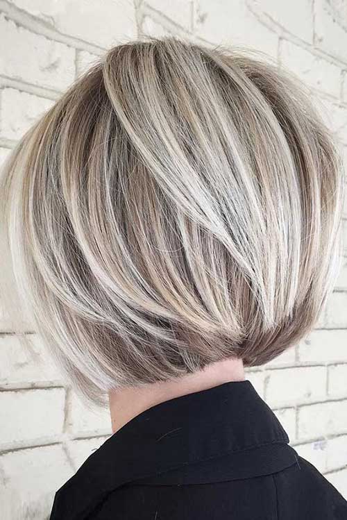 Great Hair Coloring Option Balayage On Bob Haircuts Bob