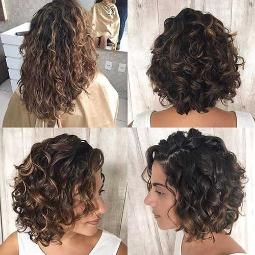 Bob Haircuts for Curly Hair-7