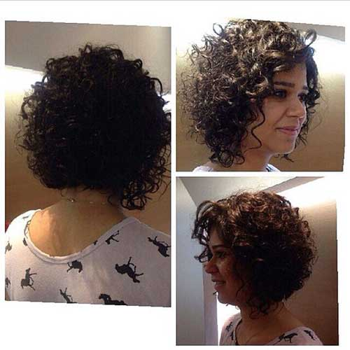 Bob Haircuts for Curly Hair-9