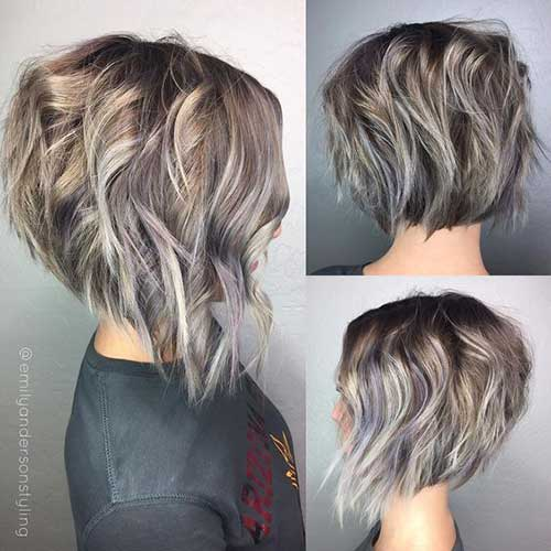 Balayage Color Bob Hairstyles