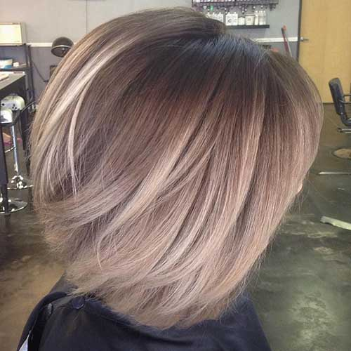 Balayage Colored Bob Hairstyles