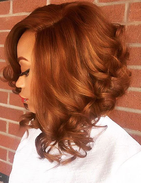 Red, Bob, Women, Weave, Waves, Updo, Short, Long, Lob, Ends