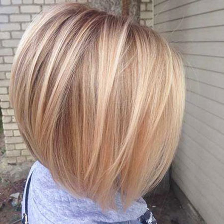 Blonde Short Fine Bobs Bob Women Very Types Pretty One Highlights Easy
