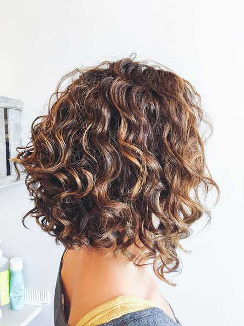 Naturally Curly Bob Hairstyles-14