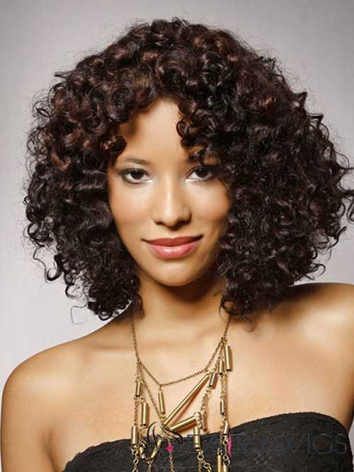 Naturally Curly Bob Hairstyles-15