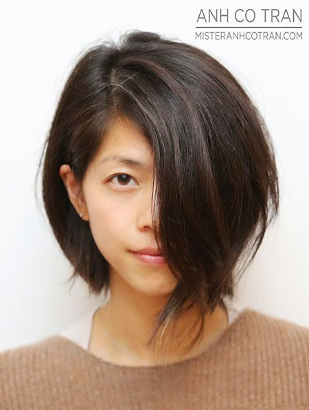 Short Bob Tran Long Brown After