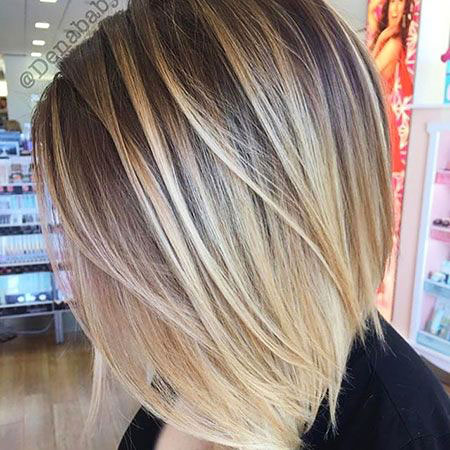 Blonde Highlights Bob Balayage 207 Short Ombre Lowlights