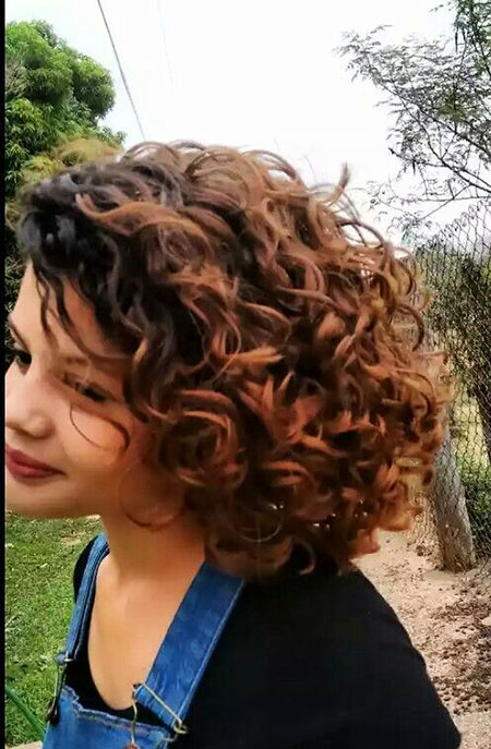 Curly Naturally Bob Short Lob Curls