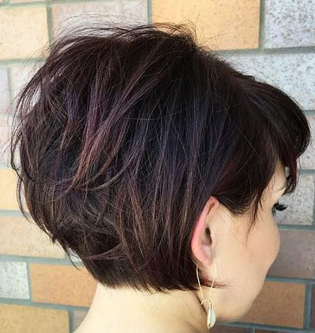 Thick Short Bob Thicker Textured Sexy Pixie