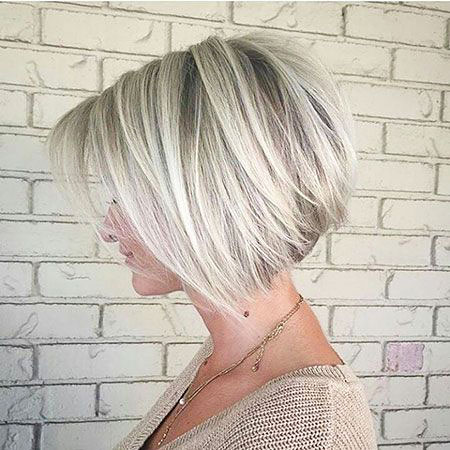 Bob Blonde Short Bobs 207 Wavy Simple Lob Layered Balayage