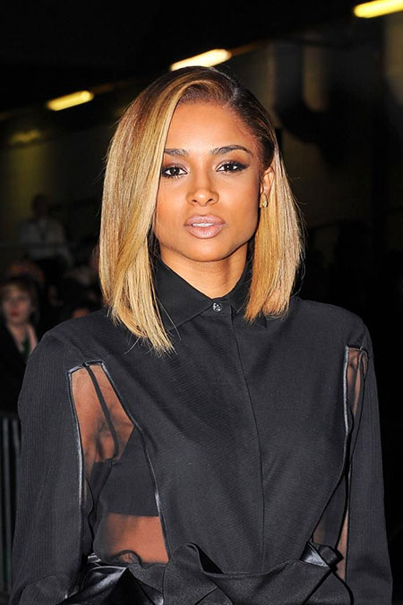 Black Women Straight Bob 2017 Long Colors Ciara
