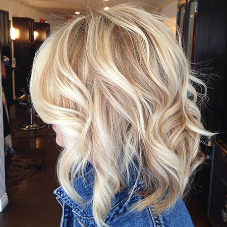 Blonde Highlights Balayage Women'S Waves Soft