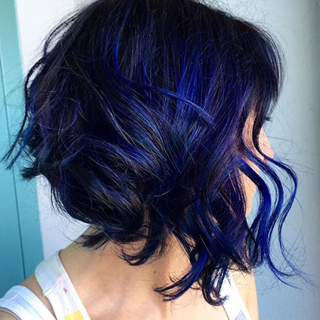 Blue Highlights Black Up Rainbow Full Dark