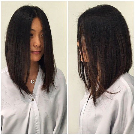 Bob Straight Long Ombre Balayage