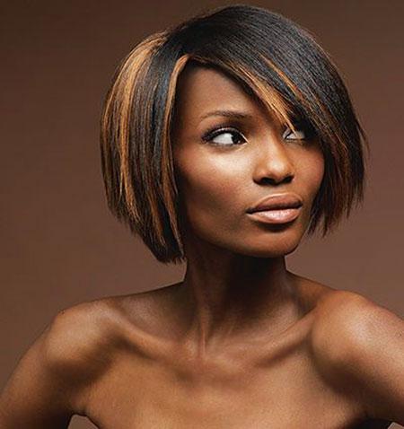 Bob Women Short Black African Thick Rihanna