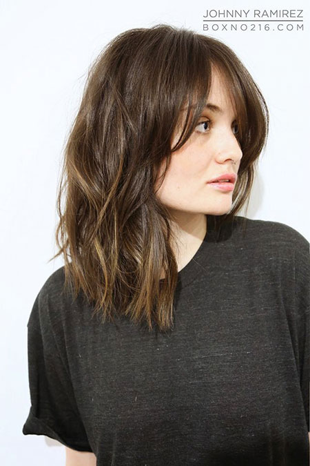 Long Bob Bangs Medium Tran Ramirez Length Fringe Chung