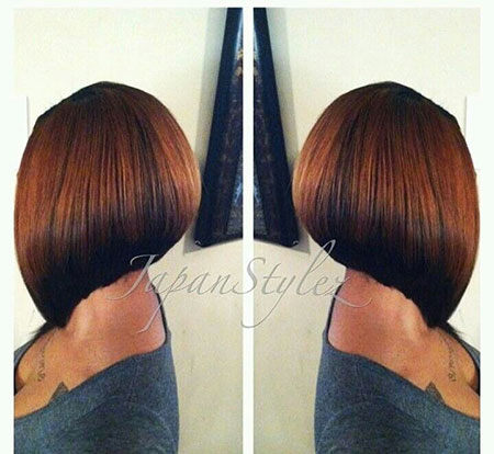 Bob Black Women Short Weave Season Red