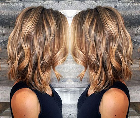 Balayage Year Women Thick Summer Should Short