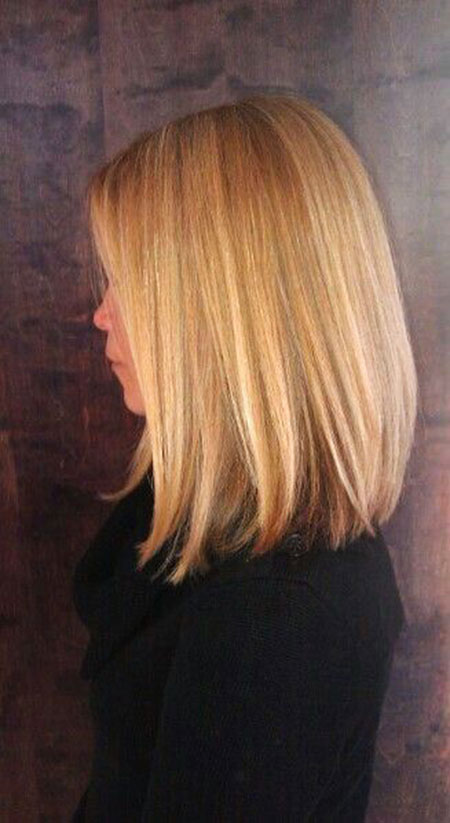 Bob Long Bobs Blonde Summer Highlights Face Extra Down