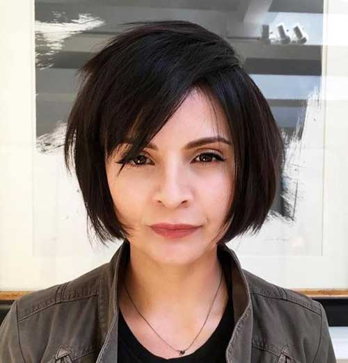 Straight Hair Bob Haircuts-7