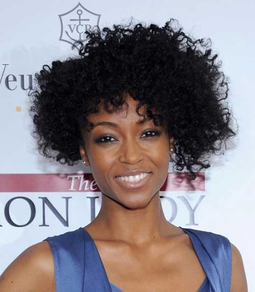 Naturally Curly Bob Hairstyles-7