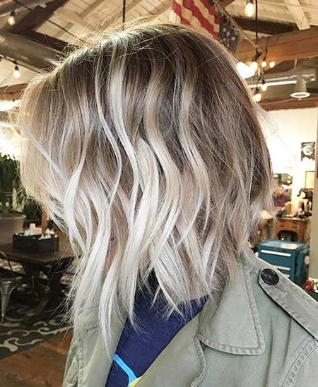 Blonde Balayage Short Wavy Tones Shades Natural